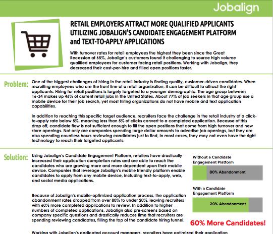 Challenges of Retail Hiring | Jobalign